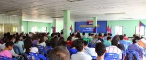 Padoh Thamein Tun at event