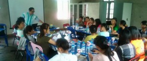 KWEG training on voting and civil education