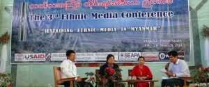 Third Ethnic Media Conference Harkar Chin State March 2015