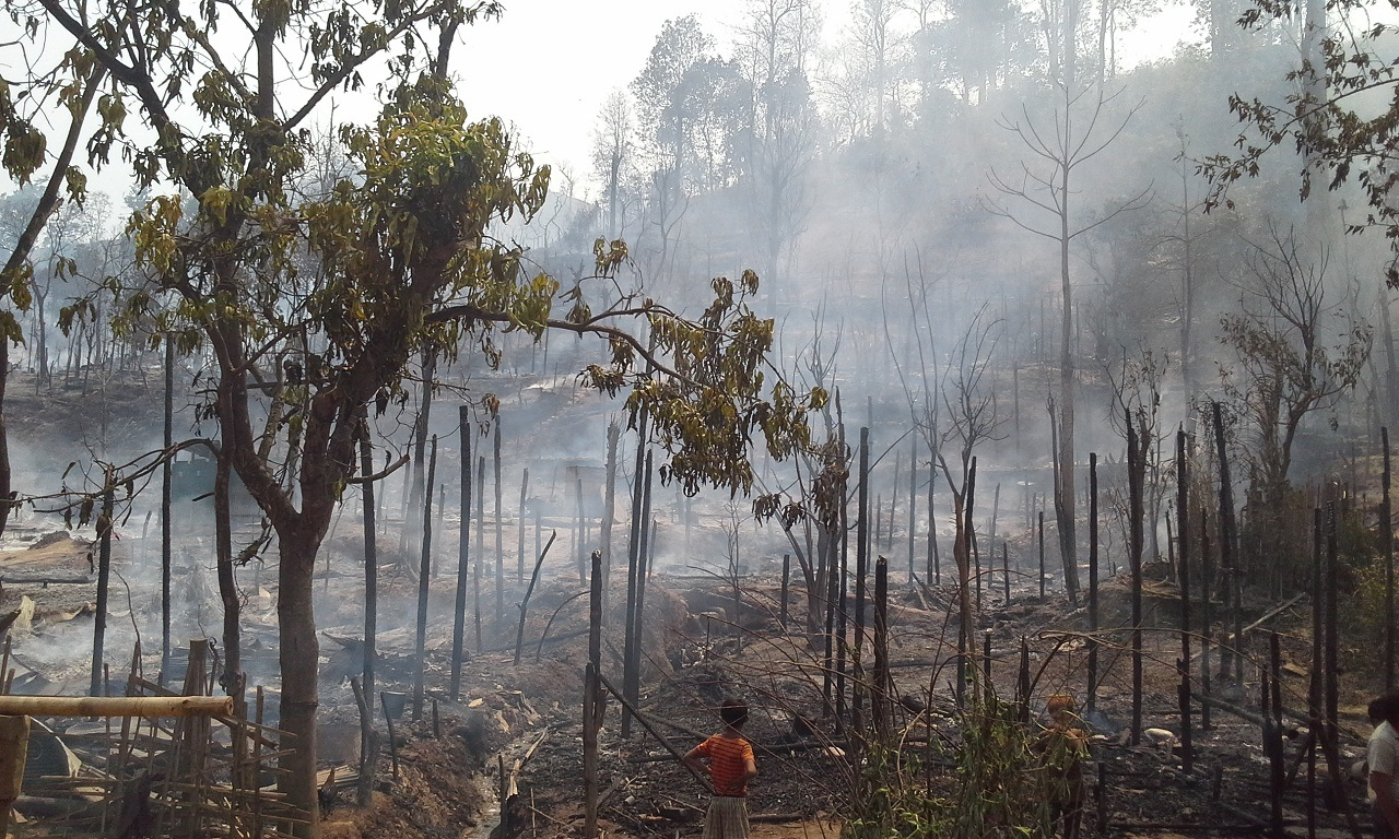 Photo of Karenni Refugees Made Homeless By Fire To Get New Homes In May