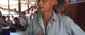 Saw Aung Kyaw Than, the first suspect who was released after being forced into confessing that his brother involved in the robbery