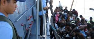 Rohingya rescued