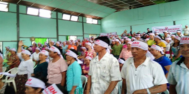 Photo of Kunhing Villagers Prepared to Stand Up to Govt, Developers, Corruption in Fight Against Salween Dam Project