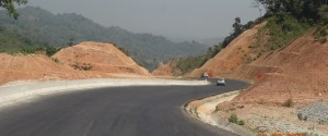 km road