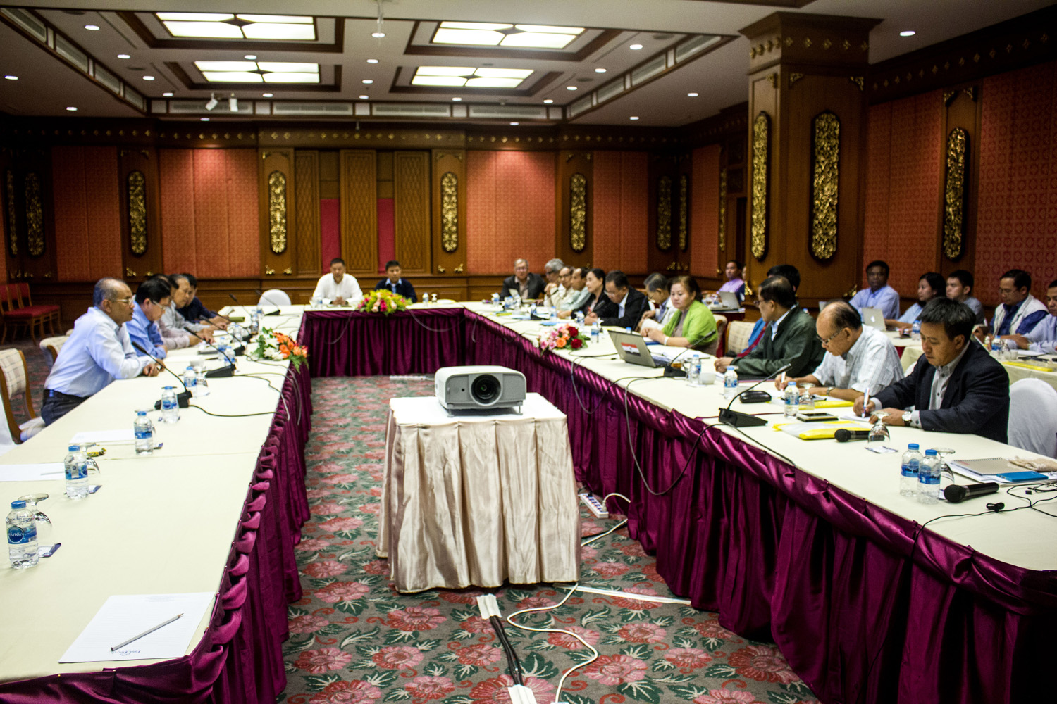 Photo of Burma Government and Ethnic Delegation Agreed to Finalize NCA before Next Government