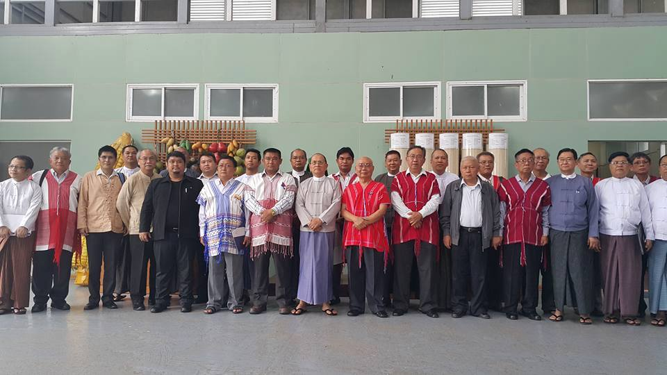 Photo of Shan and Karen Leaders Meet President U Thein Sein
