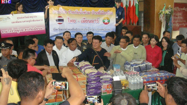 Photo of Thai Border Community Donates Aid Worth 750 Million Kyats To Burma's Flood Victims