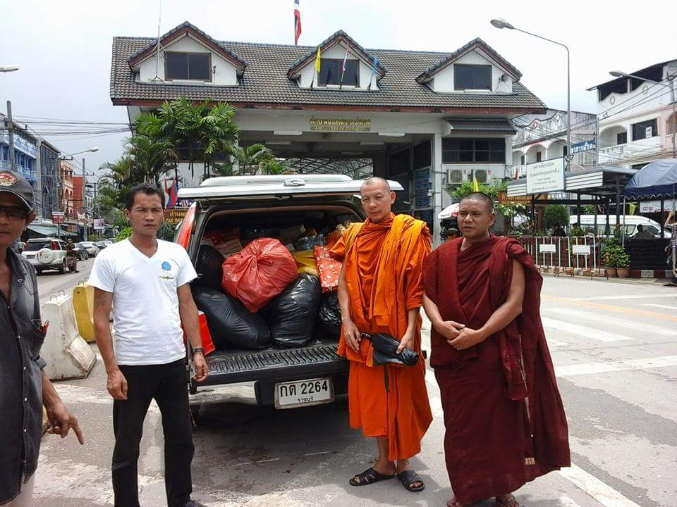 Photo of Local People, Monks, Temples, Clinics and District Offices Donate To Help Burma's Flood Victims
