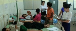 Poisoned students were seen at hospital