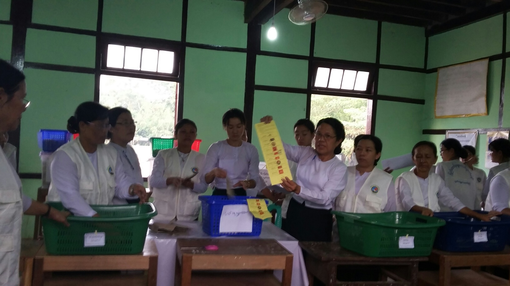 Photo of *After successful polls, Myanmar election commission deals with disputes