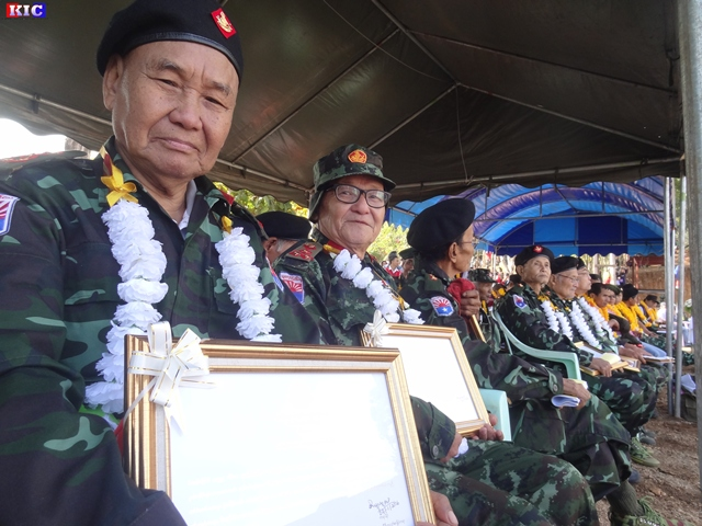 Photo of 56 Karen Revolutionaries Awarded KNU Gold Medals On 67th Karen Resistance Day