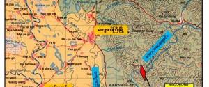 Baw Ka Hta Map