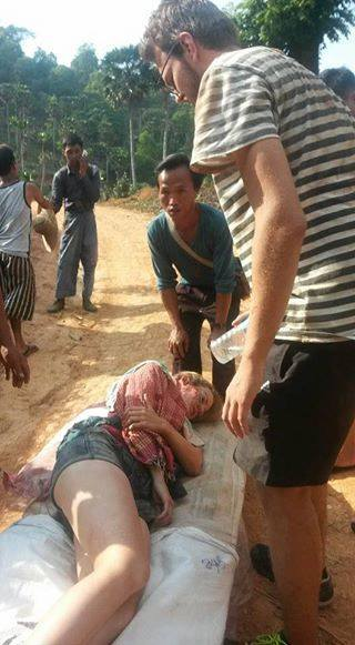 Photo of German Tourists and Local Guide Injured in Burma Landmine Blast