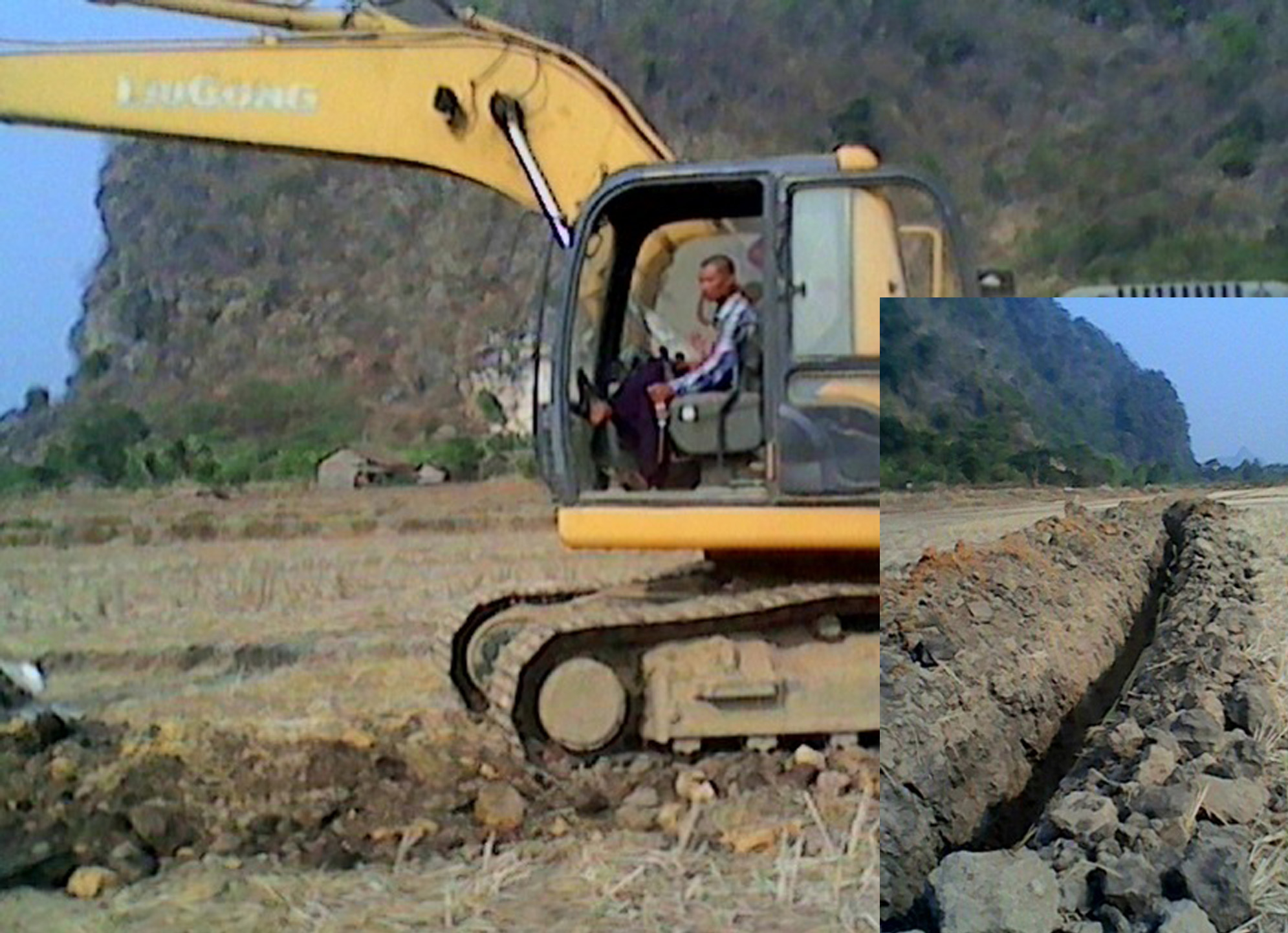 Photo of MPT and Telenor Telephone Companies Fail to Get Permission – Run Cable Tunnels Through Farm Lands and Homeyards