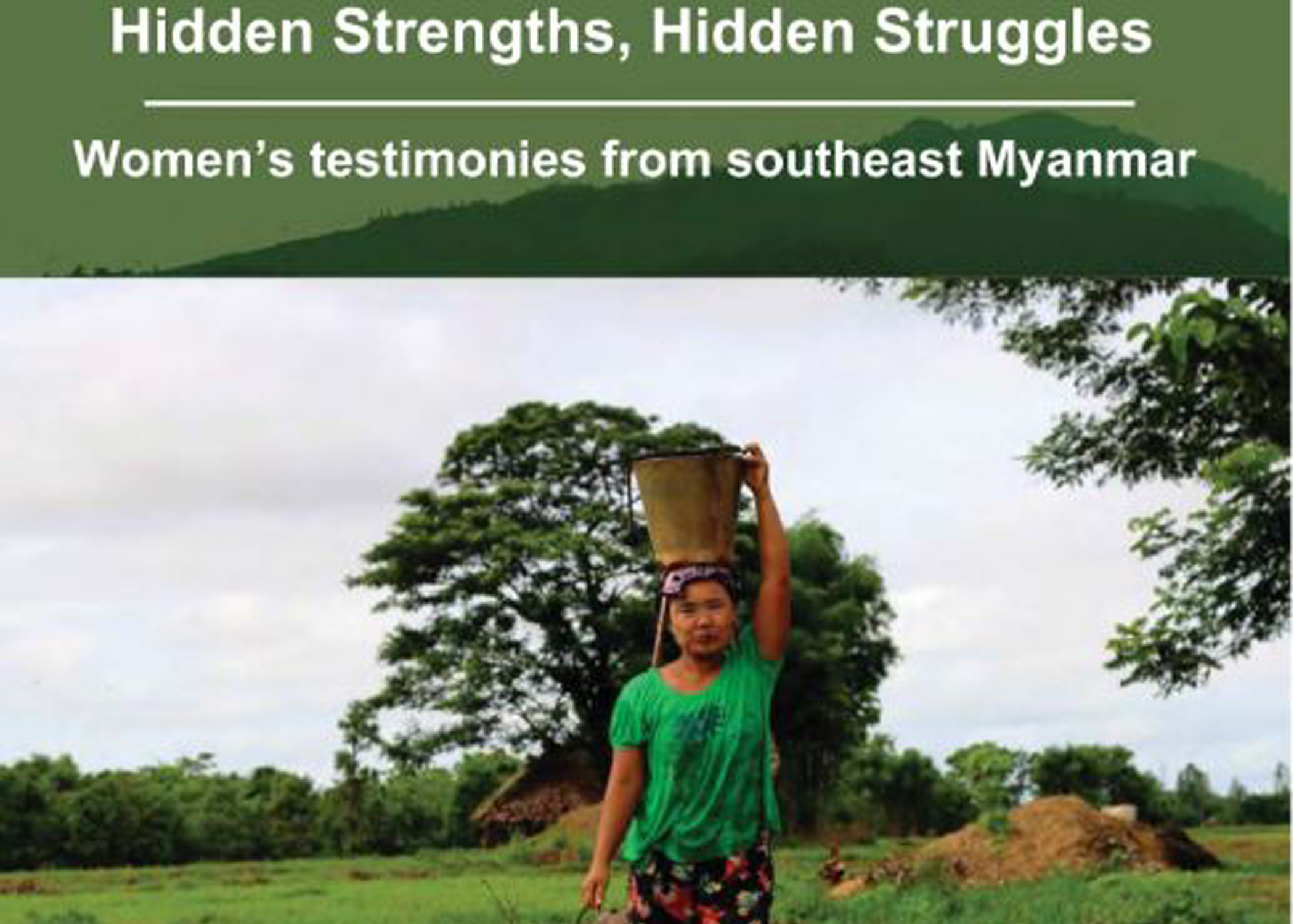 Photo of Report Highlights Ethnic Women's Mistrust of Govt After Decades of War, Human Rights Abuses