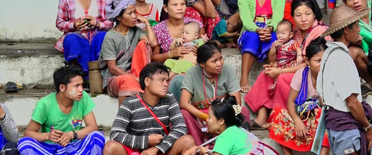 Myaing Gyi Ngu Displaced People Face Food Shortages, Lack of Medicine, as Support and Donations Stop…