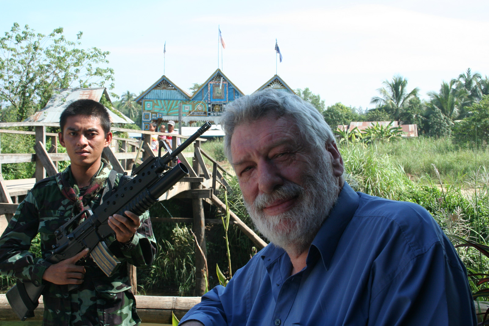 """Photo of VALE DESMOND BALL – 1947 to 2016 – """"He stood with the oppressed people of Burma…"""""""