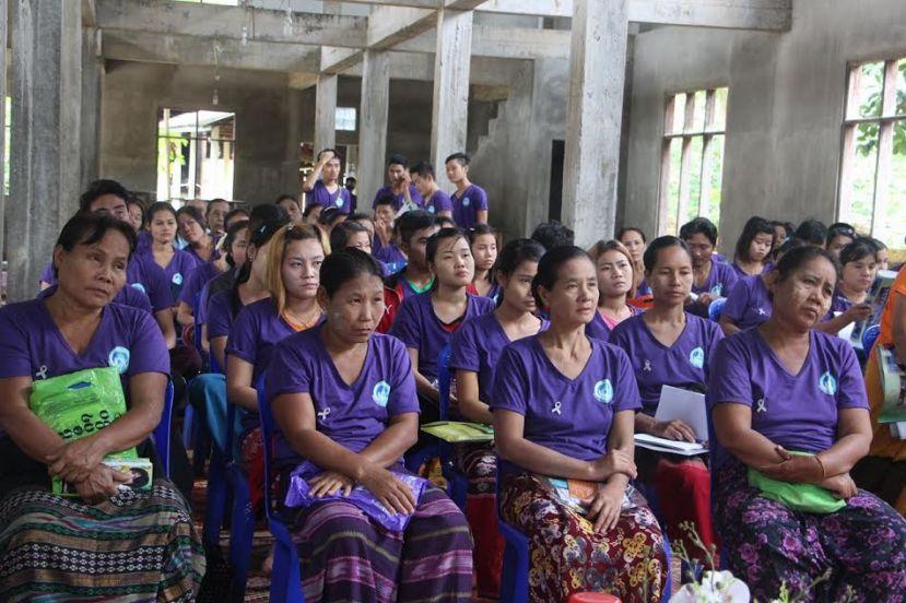 Photo of Women's Organisation Raising Awareness of Violence Against Women