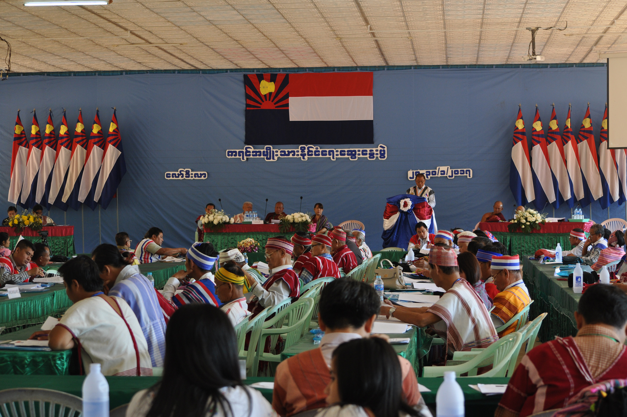 Photo of Karen Representatives Finalized Draft Policy Papers For February's Union Peace Conference