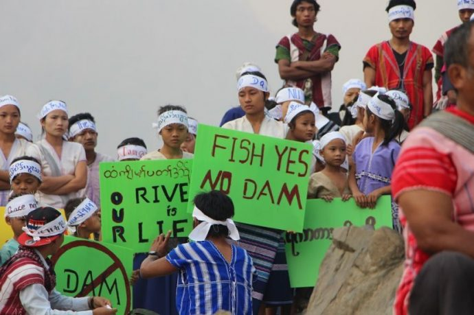 Photo of Karen IDPs ask KNU leadership to reject hydropower dams