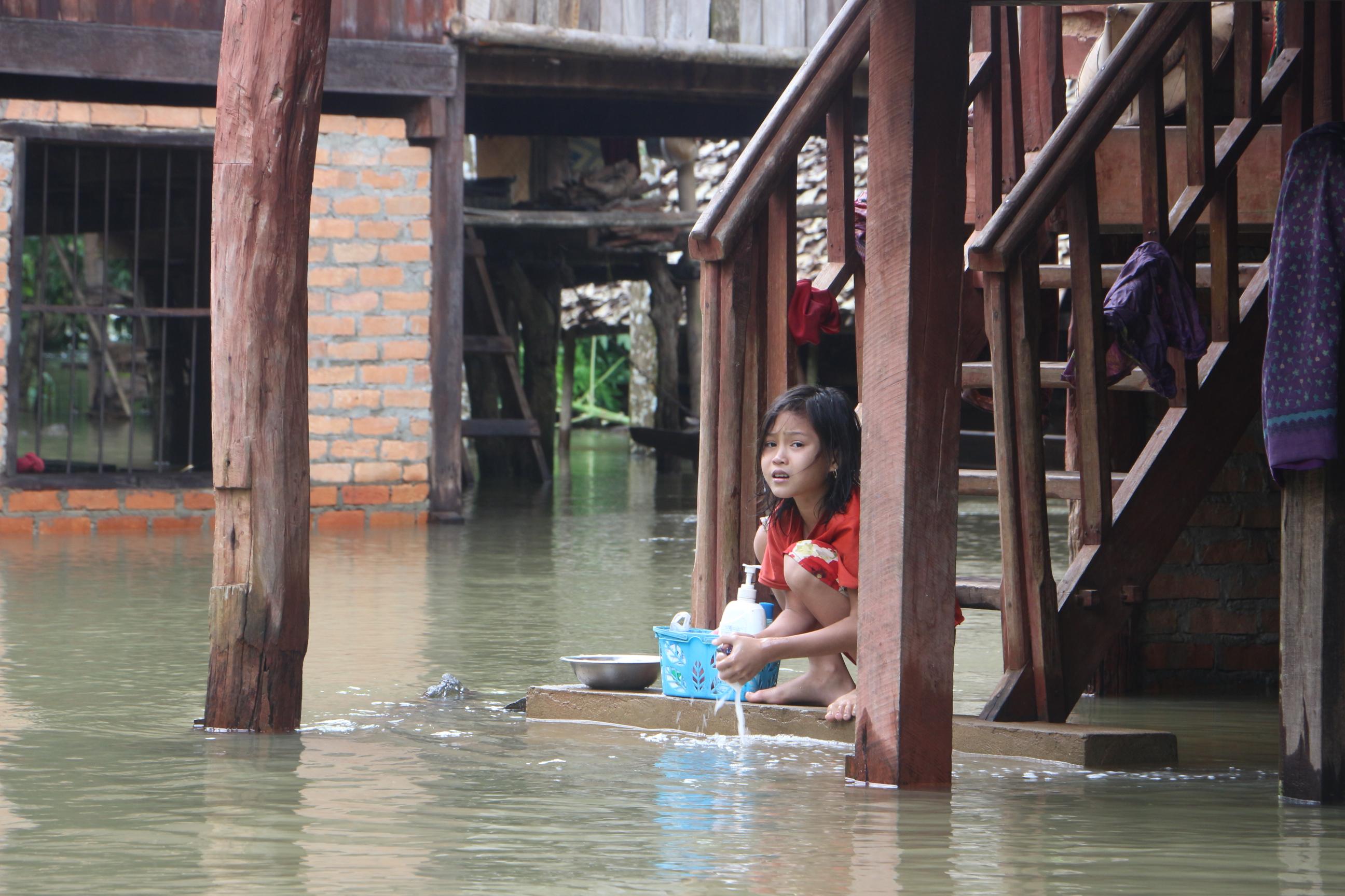 Photo of Nearly 900 Kyaikdon Residents Evacuated due to Flooding