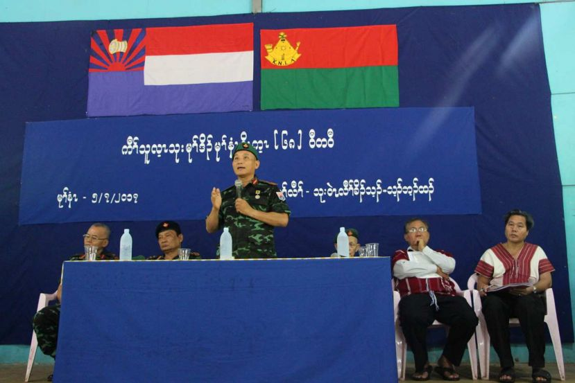 Photo of KNLA Leaders Warn Soldiers to Remain Cautious of the Ceasefire