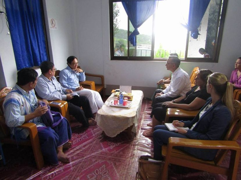 Photo of US Ambassador and KNU Discuss Development, Peace
