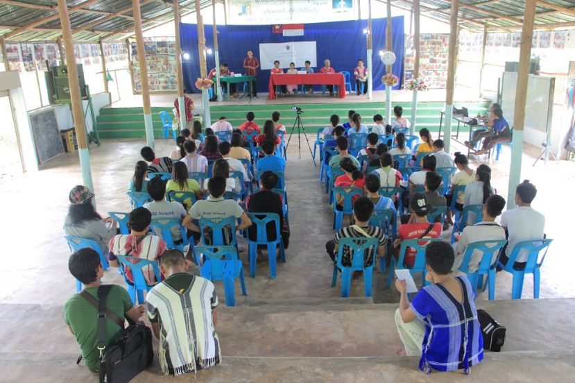 Photo of KYO Holds Youth Forum in Mae La Refugee Camp