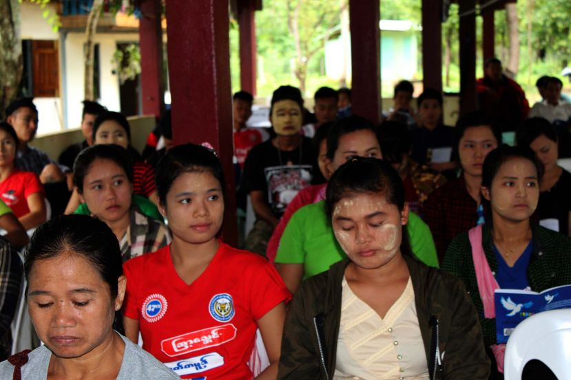 Photo of KNU Training Achieves 30 percent Quota for Female Participation