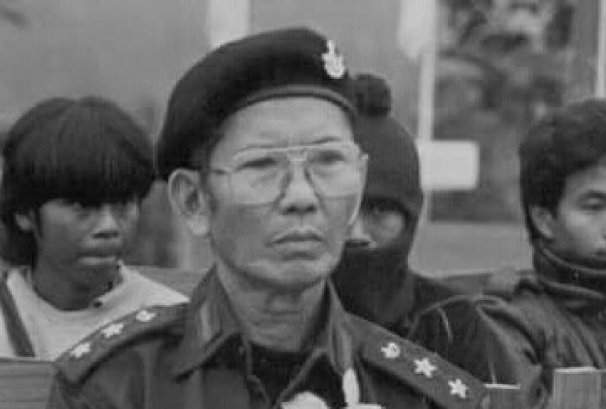 Photo of Karen resistance fighter who served the KNLA for nearly seven decades passes away