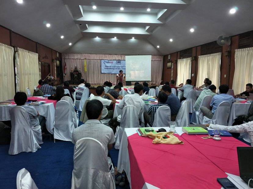 Photo of KNU Talks Post-ceasefire Peace Process with KNPP