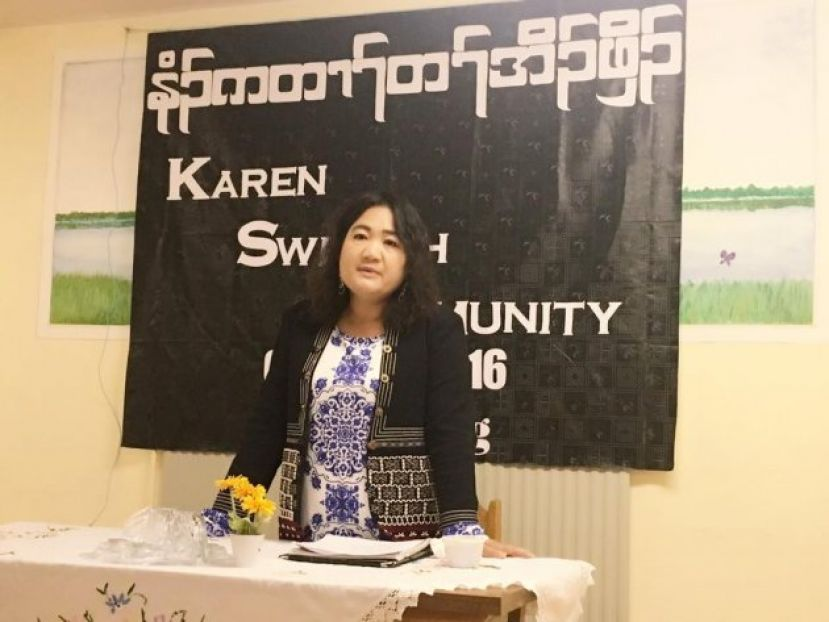 Photo of INTERVIEW: Karen Community Leader in Sweden Urges Refugees to Invest Hope in the Next Generation