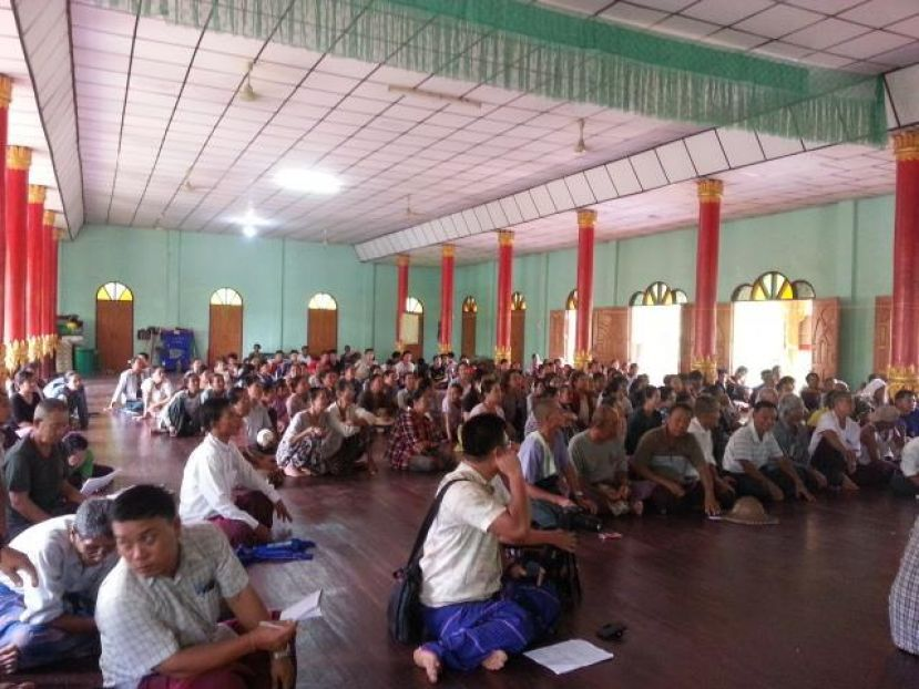Photo of Karen State Residents Object to Proposed Rock Quarry on Mee Zan Mountain