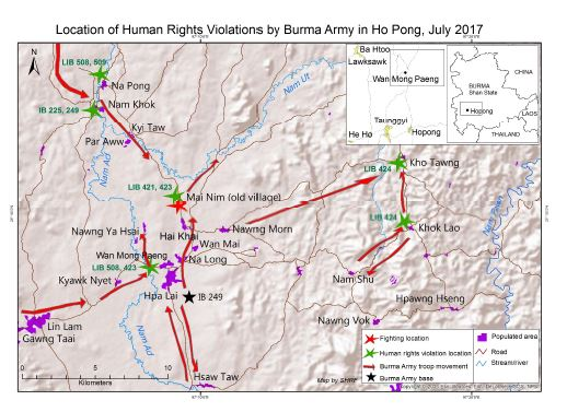 Photo of Burma Army Ignores UN and NCA Conventions, Targets and Arrests Shan Civilians