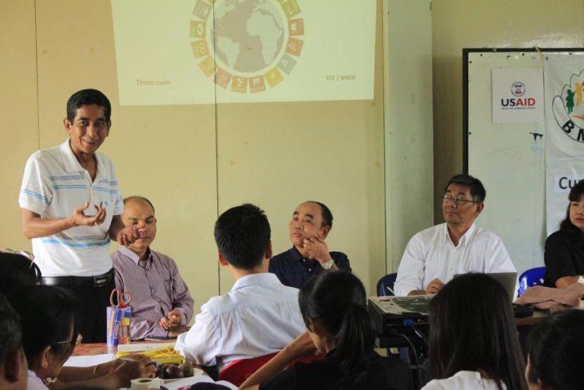 Photo of Education Activist U Naing Naing Tun Passes Away