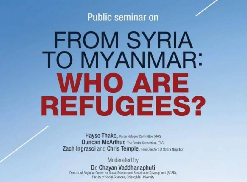 Photo of Refugee Activists Discuss Pressure to Return from Thai-Burma border at Chiang Mai Seminar