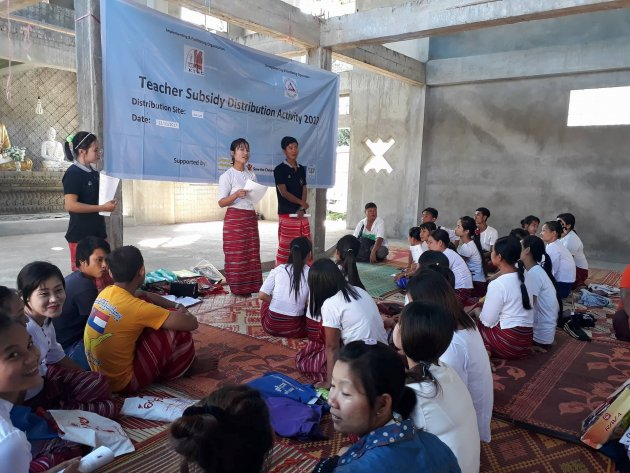 Photo of KNU's Education Department Donates over K 80 Million to Ethnic Literature Teachers