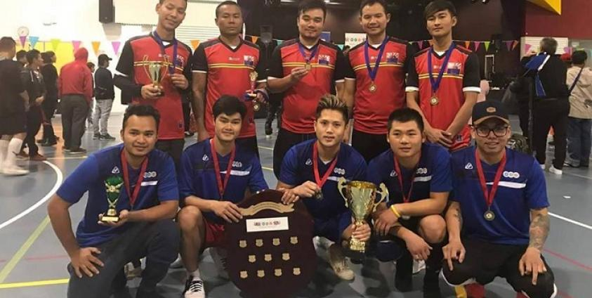Photo of Karen Sepak Takraw Team from New Zealand to Compete in Thailand