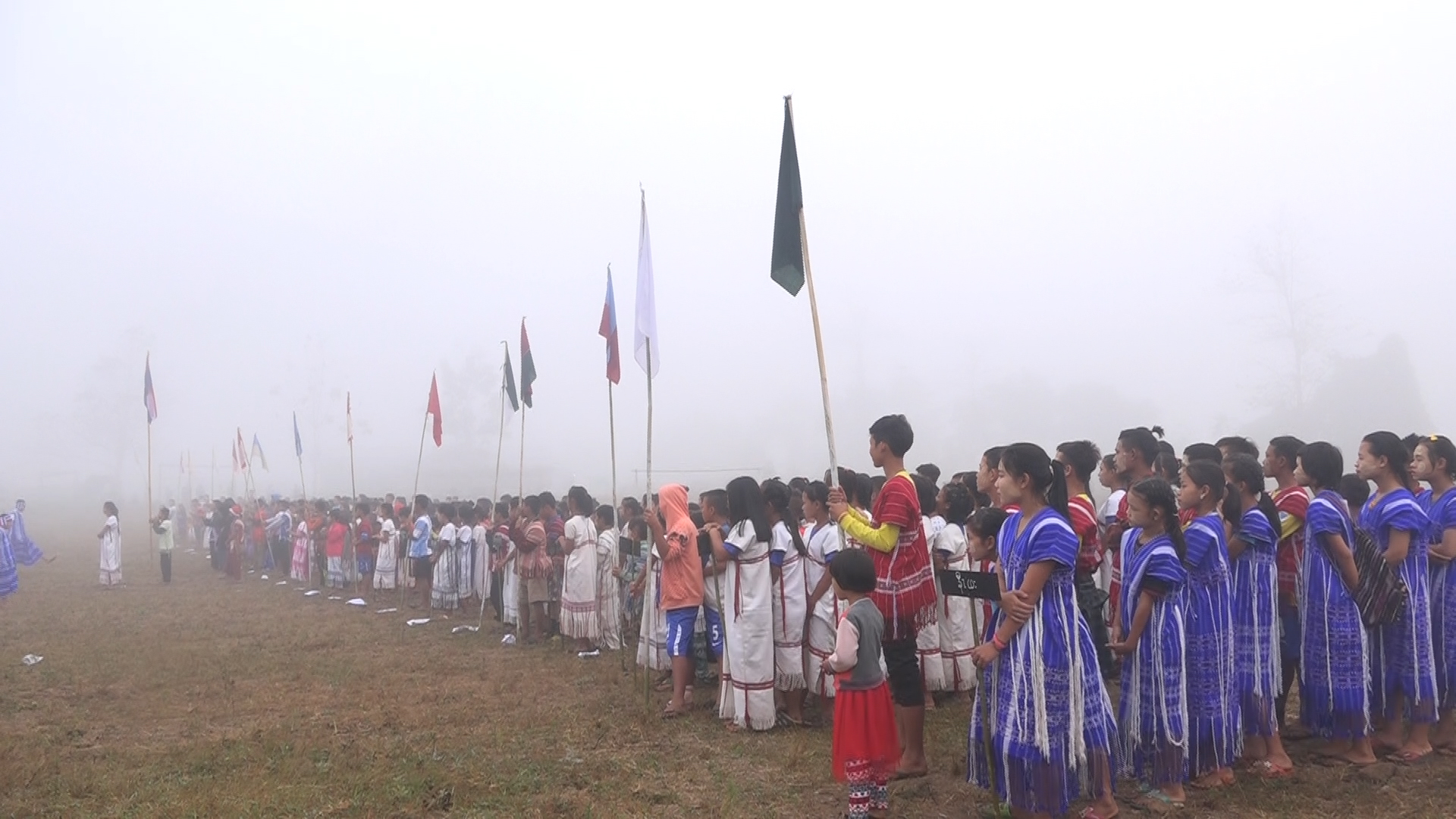 Photo of Karen Students Learning Under Two Education Systems Cooperate and Connect at Fellowship Event