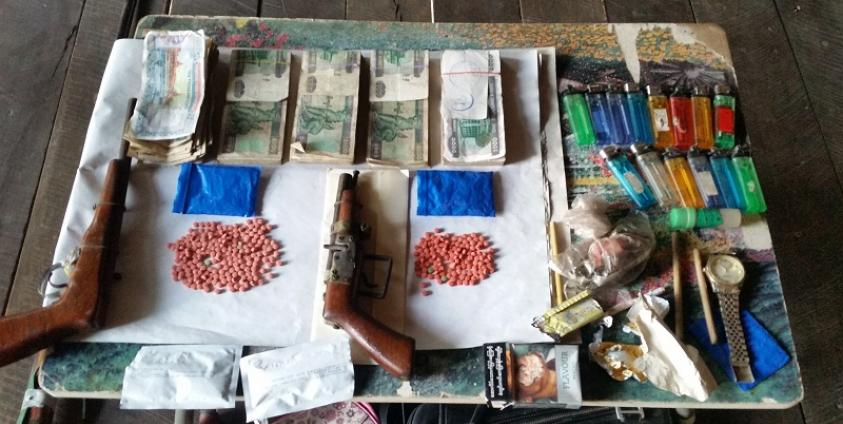 Photo of KNPF, KNLA Joint-Forces Seize Meth Pills and Arms in Kawkareik Township