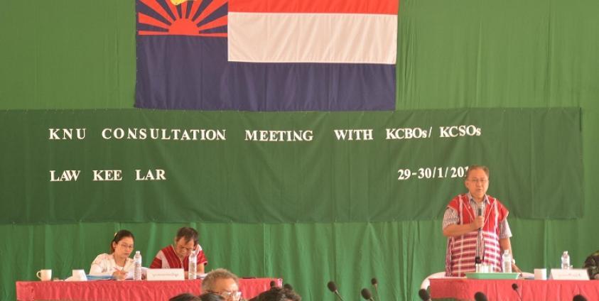 Photo of KNU Meets Karen CBOs, CSOs to Explain Peace Process