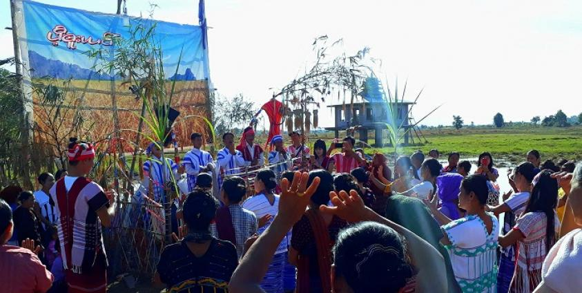 Photo of Over 200 Locals Join 28th Traditional First Harvest Ceremony in Win-Yaw Area
