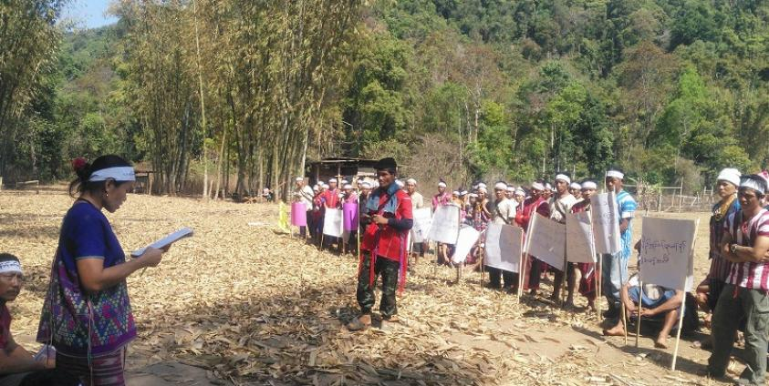 Photo of Hpapun Displaced Residents Pray for Peace, Demand Withdrawal of Tatmadaw Troops