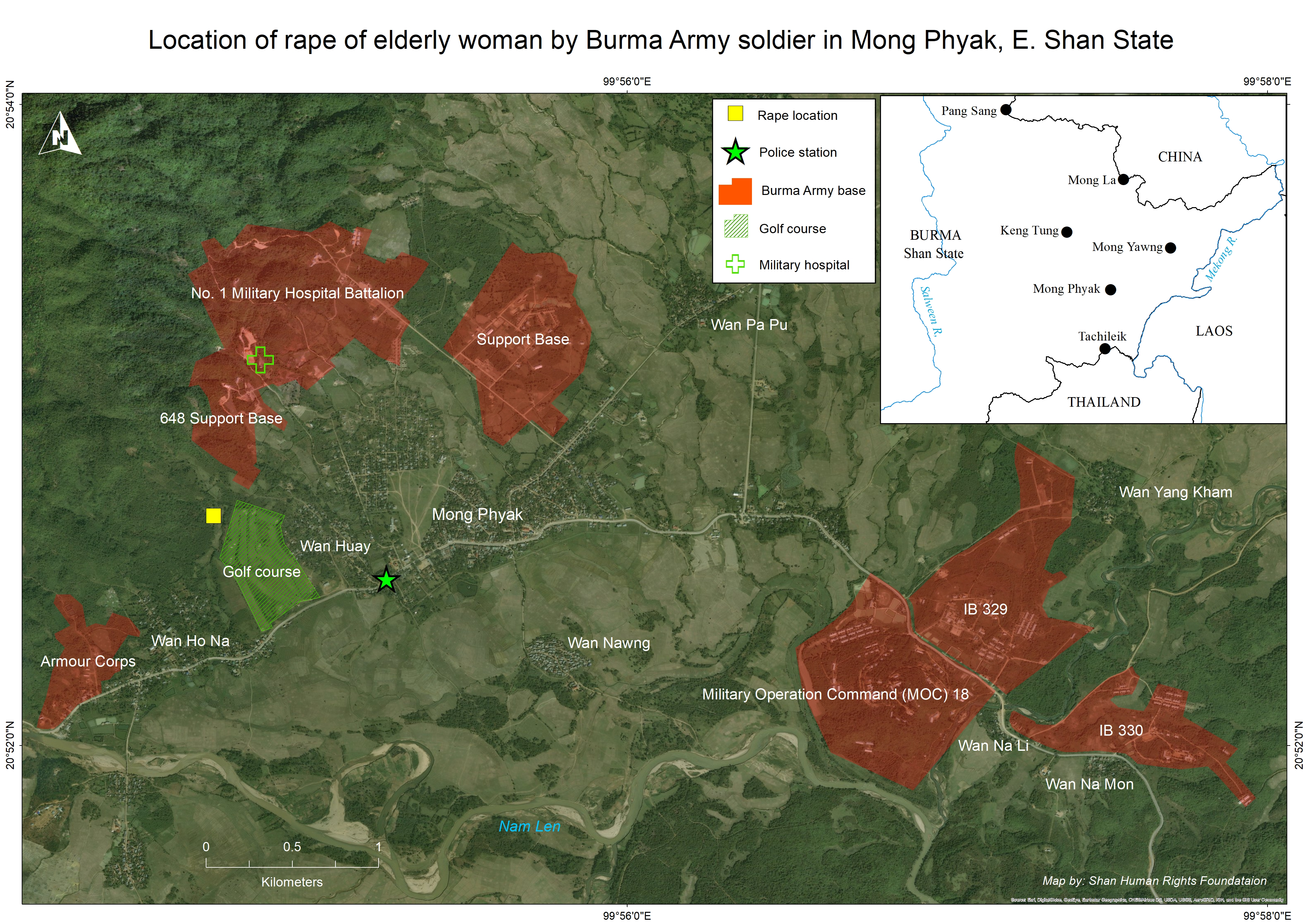 Photo of SHAN Human Rights: Burma Army Soldier Rapes and Knifes 73-year-old woman in Eastern Shan State