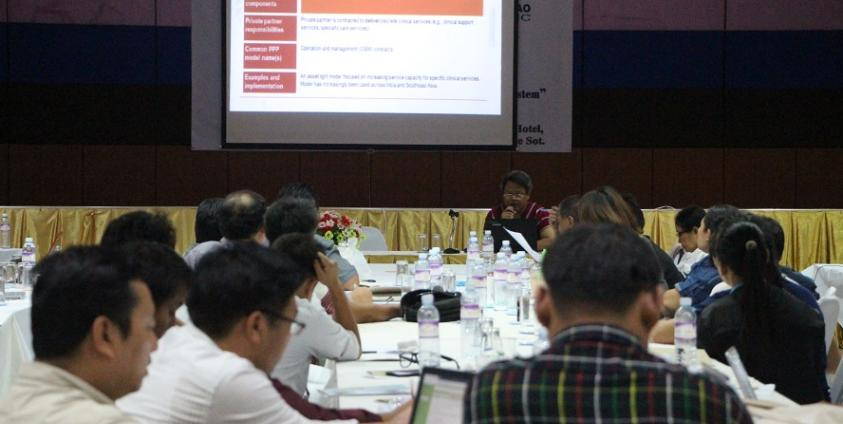 Photo of Health Seminar Held with Border Health Organizations and Experts
