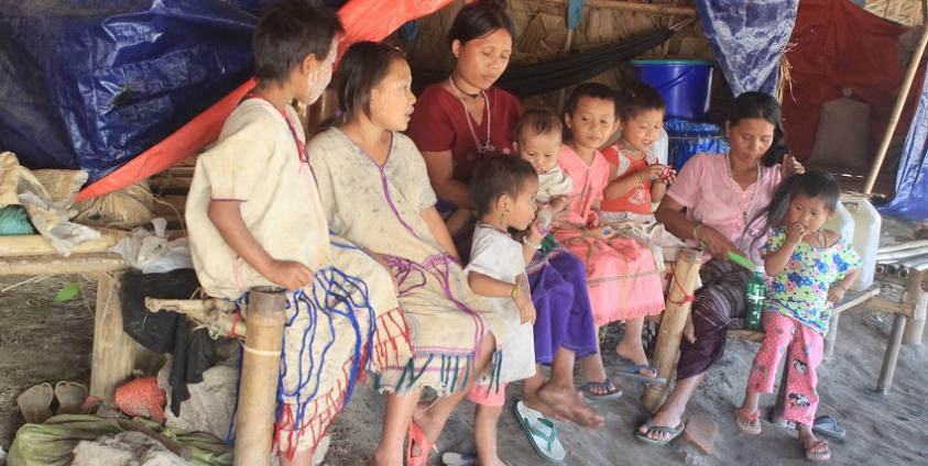 Photo of Myaing Gyi Ngu IDPs in Need for Shelter Materials to Repair Housing before the Monsoon