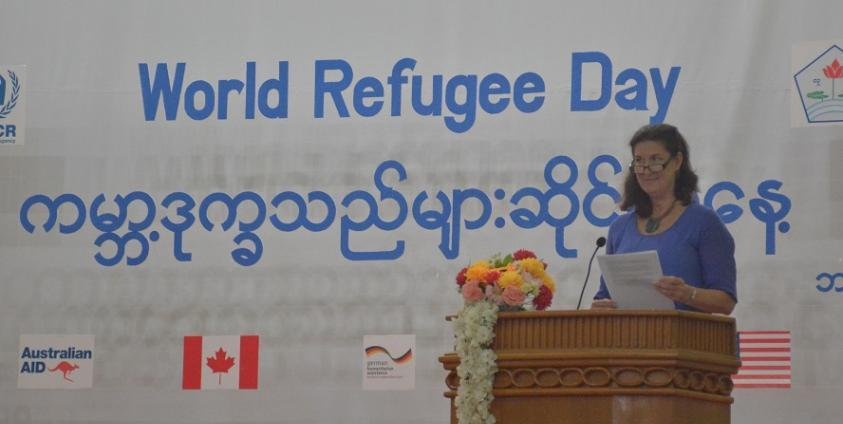 Photo of UNHCR Says It Has Never Encouraged Refugees to Return Home from Thai Border