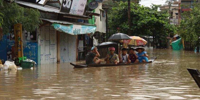 Photo of Three Townships in Karen State Hit Hardest by Flood – Over 16,000 People Affected