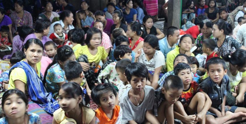 Photo of Flood-affected Victims still Need Aids on Kawt-Lon Island