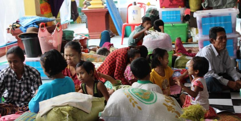 Photo of Two More Relief Camps Opened for Flood Victims in Hpa-an